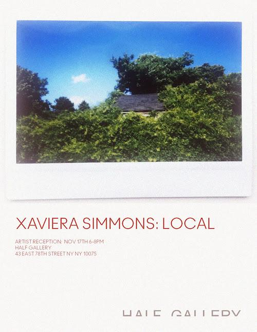 Xaviera Simmons 'Local' | Events Calendar