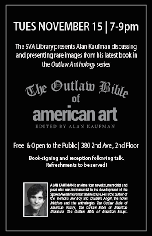 the outlaw bible of american essays The fourth and latest in the series is the outlaw bible of american art alan kaufman is a essays, interviews and biographies.