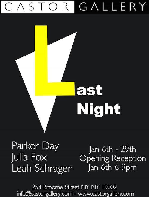 """Last Night""    Events Calendar"