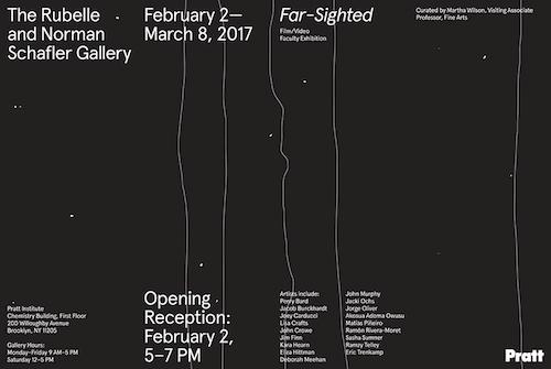 """FAR-SIGHTED"": Film/Video Faculty Exhibition  