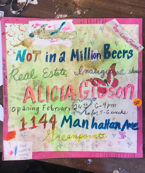 "Alicia Gibson ""Not In a Million Beers"" 
