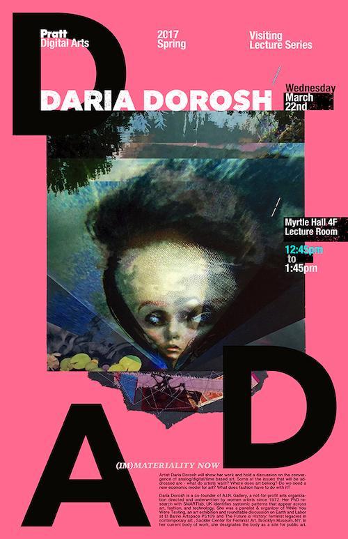 Daria Dorosh Digital Arts Lecture Series | Events Calendar