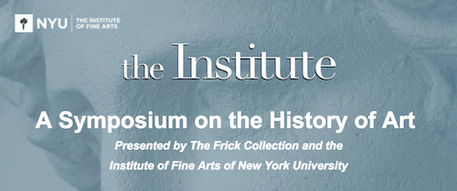 A Symposium on the History of Art  | Events Calendar