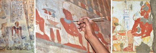 "Dimitri Laboury: ""Painters and Painting Practices in Ancient Egypt""  