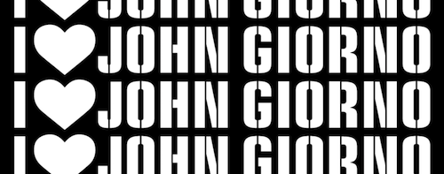 Ugo Rondinone: I ♥ John Giorno  | Events Calendar