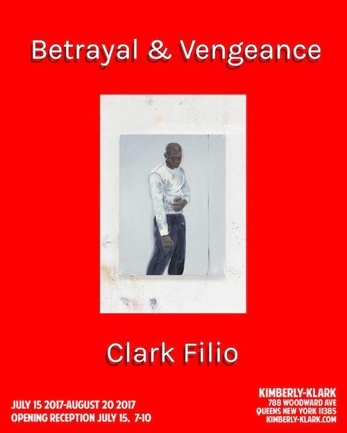"Clark Filio ""Betrayal & Vengeance"" | Events Calendar"