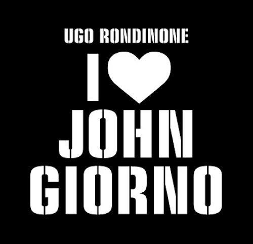 """Ugo Rondinone: I ♡ John Giorno""  | Events Calendar"