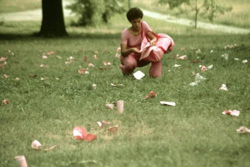 "Performance in the Park: Maren Hassinger's ""Pink Trash""  
