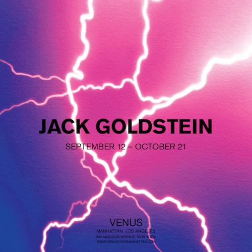 Jack Goldstein  | Events Calendar