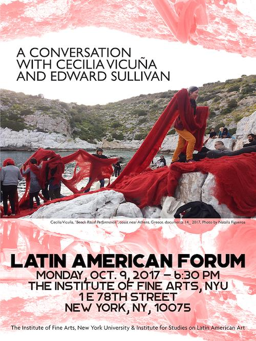 A Conversation with Cecilia Vicuña Latin American Forum | Events Calendar