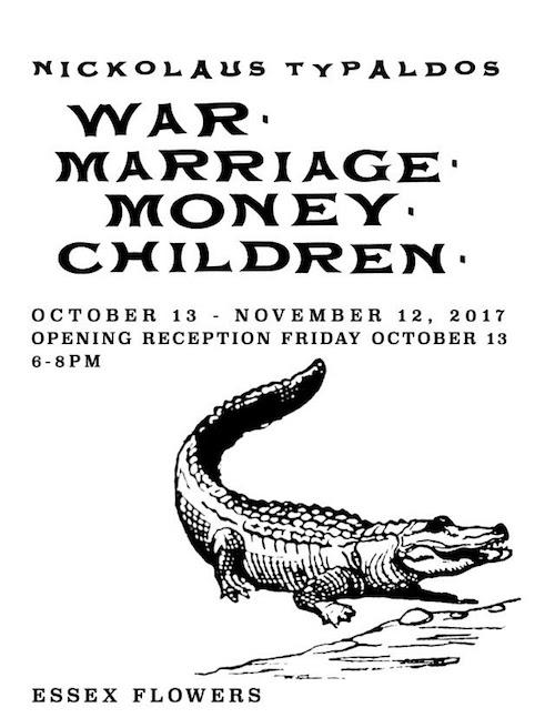 "Nickolaus Typaldos ""War, Marriage, Money, Children"" 