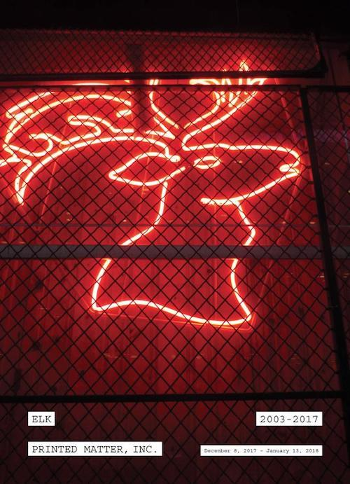 """Elk: 2003-2017"" An exhibition by Jocko Weyland | Events Calendar"