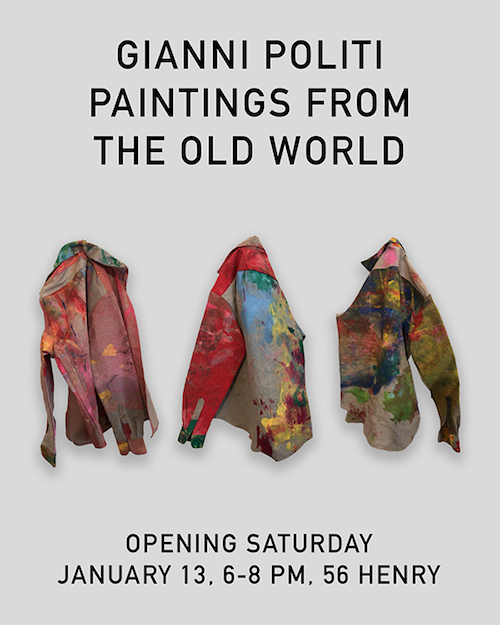 "Gianni Politi ""Paintings From the Old World"" 