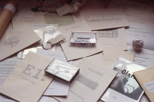 """Imprint 93"" An archive exhibition of the 90s' collaborative mail art project 