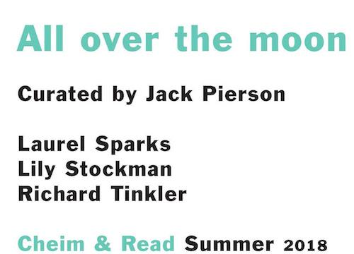 """All over the moon: Laurel Sparks, Lily Stockman, Richard Tinkler""  