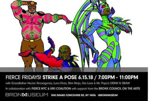 """FIERCE FRIDAY! STRIKE A POSE""  