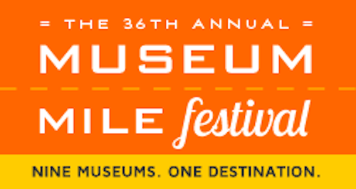 """Museum Mile Festival""  