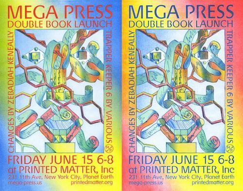 """Trapper Keeper 6 & Changes — Book Launch with Mega Press""  