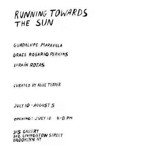 """Running Towards the Sun""    Events Calendar"