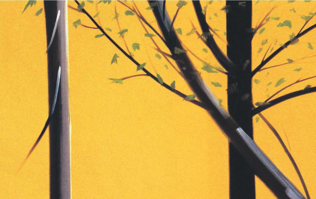 "Alex Katz ""Three Paintings"" 