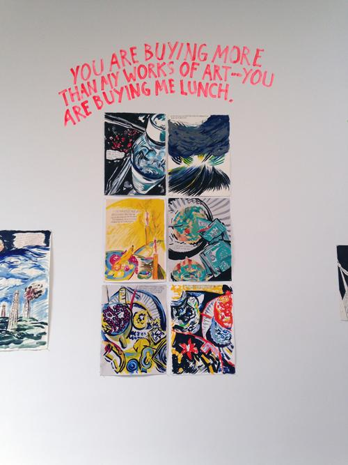 in Pictures for Raymond Pettibon at David Zwirner. Image for  Raymond Pettibon: 'To Wit' at David Zwirner