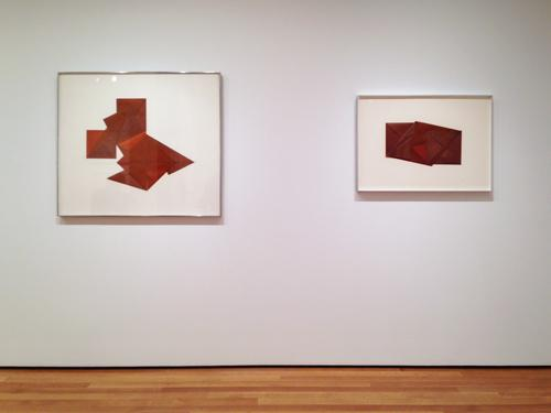 in Pictures for Dorothea Rockburne at MoMA. Image for  Dorothea Rockburne: 'Drawing Which Makes Itself' at MoMA