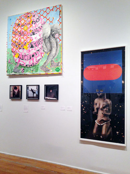 in Pictures for The Shadows Took Shape at The Studio Museum in Harlem. Image for (L-R) Trenton Doyle Hancock, Harold Offeh, William Villalongo