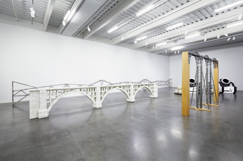 """in Pictures for 'Chris Burden: Extreme Measures' at New Museum. Image for """"Chris Burden: Extreme Measures"""" at New Museum, New York, 2013. Courtesy New Museum, New York. Photo: Benoit Pailley."""