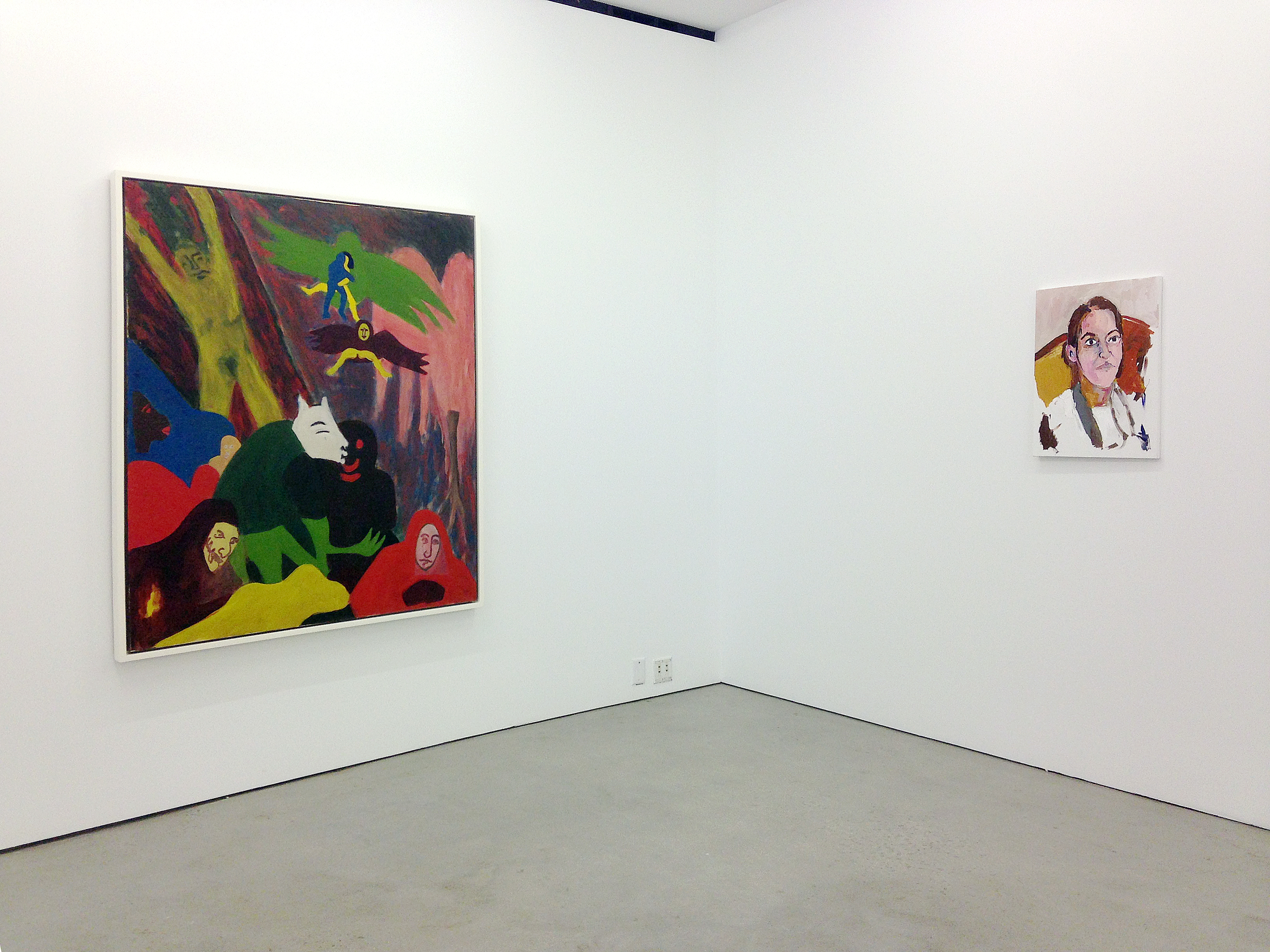 in Pictures for 'TICKET TO REALITY' at Marlborough Chelsea. Image for (L-R) Alice Neel, Henry Taylor