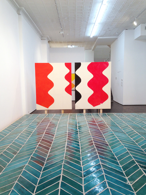 in Pictures for Sarah Crowner at Nicelle Beauchene Gallery. Image for