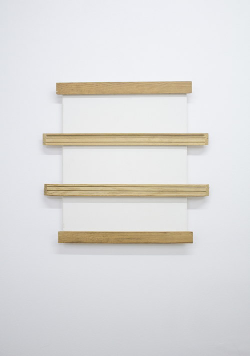 in Pictures for Michael Mahalchick and Jacques Louis Vidal at 247365. Image for Michael Mahalchick, Frame, 2013, wood, canvas, 21 x 20 inches