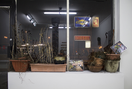 in Pictures for Michael Mahalchick and Jacques Louis Vidal at 247365. Image for 'Working In Ah Hole Mine' installation view, image courtesy the artists and 247365