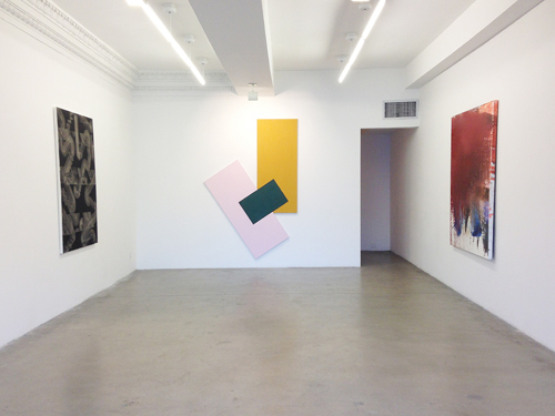 in Pictures for 'Moira Dryer Project' at Eleven Rivington. Image for (L-R) Julia Dault, Noam Rappaport, Jackie Saccoccio