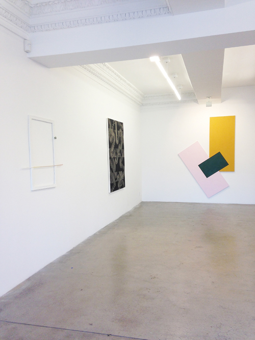 in Pictures for 'Moira Dryer Project' at Eleven Rivington. Image for (L-R) Jeffrey Tranchell, Julia Dault, Noam Rappaport