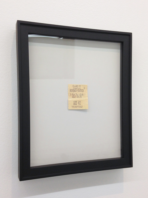 in Pictures for 'The Age of Small Things' at DODGEgallery. Image for Robert Gober