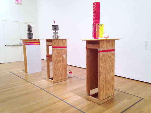 in Pictures for Isa Genzken at MoMA. Image for