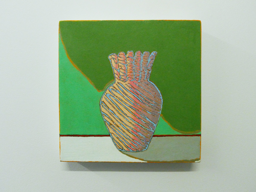 in Pictures for Holly Coulis at Sardine. Image for Holly Coulis, Italian Glass, 2013, oil on linen, 12 x 12. Image courtesy the artist and Sardine