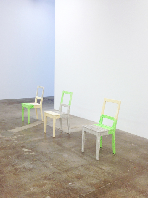in Pictures for Hayley Tompkins at Andrew Kreps Gallery. Image for