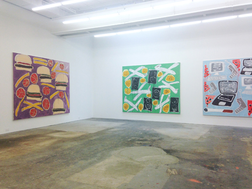 in Pictures for Katherine Bernhardt at CANADA. Image for