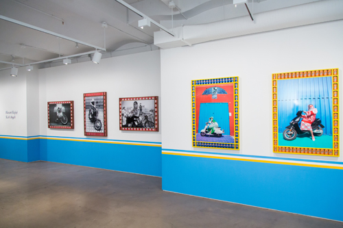 in Pictures for Hassan Hajjaj at Taymour Grahne Gallery. Image for Taymour Grahne Gallery's Opening of Hassan Hajjaj: 'Kesh Angels. January 28, 2014. Image credit: Photo by Scott Rudd