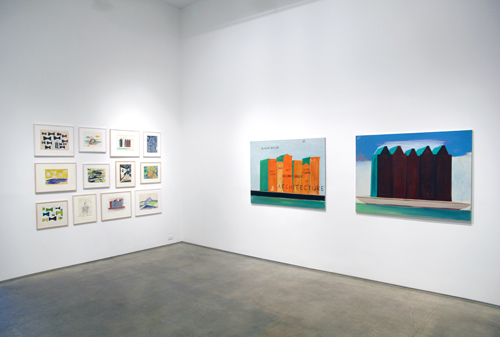 in Pictures for René Daniëls at Metro Pictures. Image for Courtesy of the artist and Metro Pictures