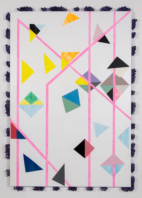 in Pictures for Sarah Cain at Galerie Lelong. Image for Sarah Cain, New Logic, 2014, Acrylic on canvas, 110 x 78 inches (279.4 x 198.1 cm). Copyright of the Artist, Courtesy of Galerie Lelong, New York.