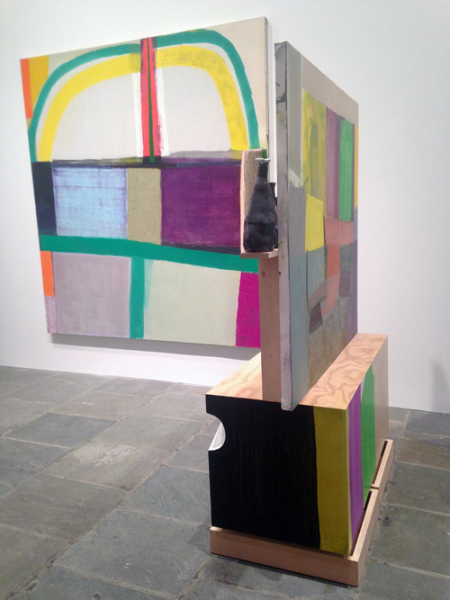 in Pictures for The 2014 Whitney Biennial at Whitney Museum of American Art. Image for Amy Sillman and Pam Lins