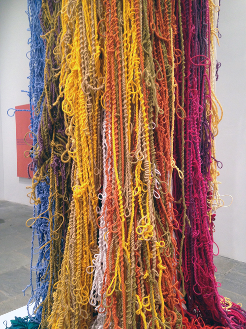 in Pictures for The 2014 Whitney Biennial at Whitney Museum of American Art. Image for Sheila Hicks