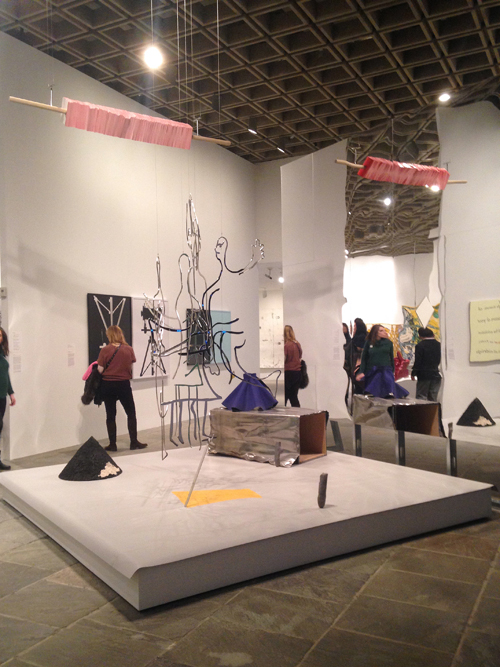 in Pictures for The 2014 Whitney Biennial at Whitney Museum of American Art. Image for (L-R) Shana Lutker, Sarah Charlesworth