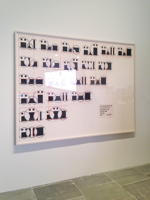 in Pictures for The 2014 Whitney Biennial at Whitney Museum of American Art. Image for Channa Horwitz