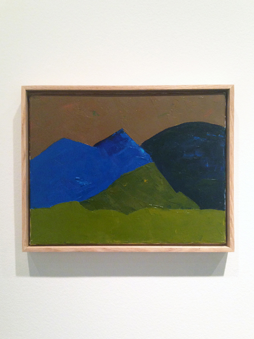 in Pictures for The 2014 Whitney Biennial at Whitney Museum of American Art. Image for Etel Adnan