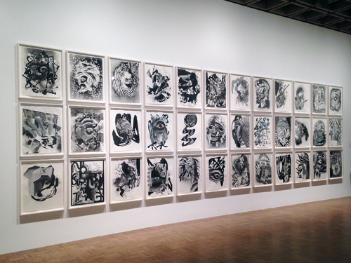 in Pictures for The 2014 Whitney Biennial at Whitney Museum of American Art. Image for Charline von Heyl