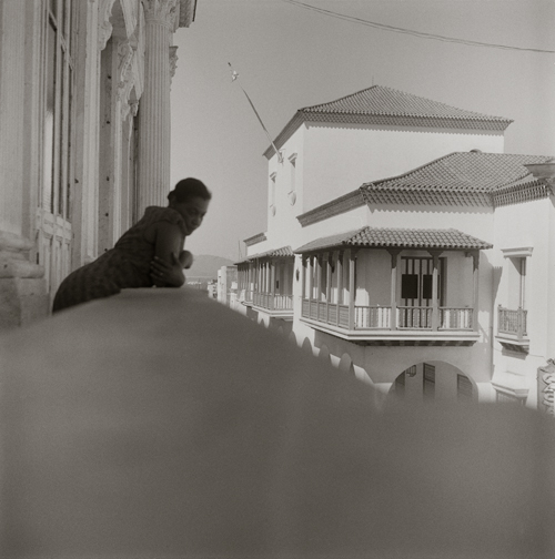 in Pictures for Carrie Mae Weems at Solomon R. Guggenheim Museum. Image for Carrie Mae Weems, Listening for the Sounds of Revolution (from Dreaming in Cuba), 2002, Gelatin silver print, 28 1/2 x 28 1/2 inches (72.4 x 72.4 cm). Collection of the artist, Courtesy the artist and Jack Shainman Gallery, New York © Carrie Mae Weems