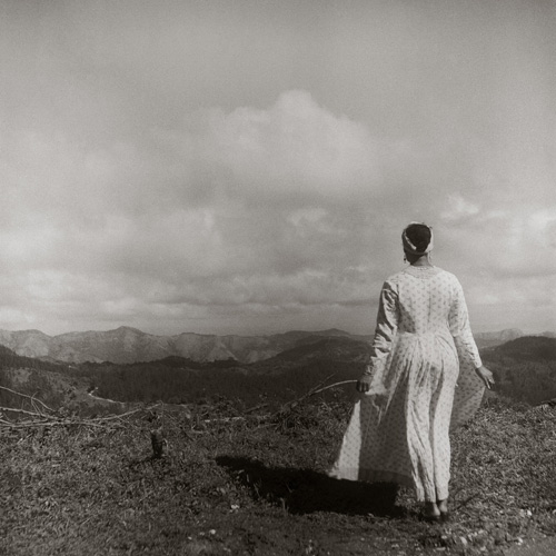 in Pictures for Carrie Mae Weems at Solomon R. Guggenheim Museum. Image for Carrie Mae Weems, In the Mountains of Santiago de Cuba (from Dreaming in Cuba), 2002, Gelatin silver print, 31 x 31 inches (78.7 x 78.7 cm). Collection of the artist, Courtesy the artist and Jack Shainman Gallery, New York © Carrie Mae Weems